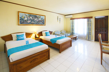 Airy Jimbaran Kuta Pantai Kedonganan Bali - Deluxe Twin Room Only Regular Plan