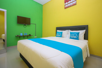 Airy Bandara Adi Soemarmo 3 Solo - Deluxe Double Room with Breakfast Special Promo 42