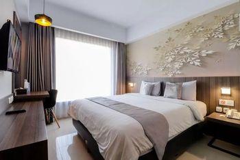 Hotel Unisi Yogyakarta Syariah Yogyakarta - Deluxe Double Room Only Regular Plan