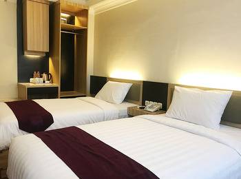 TOP Malioboro Hotel Yogyakarta - Deluxe Twin Room Regular Plan