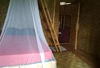 Edriyan Bungalow Lombok - Bamboo Bungalow Double Bed Regular Plan