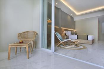 Tapa Tepi Kali Bali - Deluxe Double Room with Pool Access Regular Plan