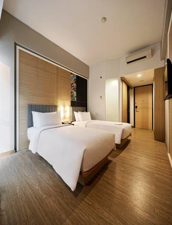 MaxOneHotels at Platinum Hayam Wuruk - Jakarta Jakarta - Happiness Twin Bed Room Only Regular Plan
