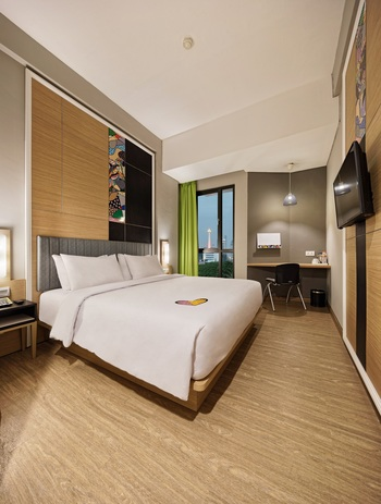 MaxOneHotels at Platinum Hayam Wuruk - Jakarta Jakarta - Happiness DoubleBed Room Only Regular Plan