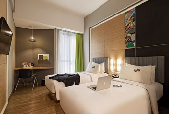 MaxOneHotels at Platinum Hayam Wuruk - Jakarta Jakarta - Happiness Twin Bed Room Only Regular Plan