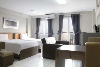 Indoluxe Rent Apartement Bekasi Bekasi - Deluxe Two Beds Room Only Regular Plan