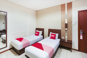 Capital O 1748 Thamrin Condotel Jakarta - Standard Twin Room Regular Plan