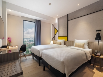 Arosa Hotel Jakarta Jakarta - Deluxe Twin Room Only Regular Plan