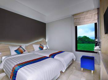 D'MAX Hotel & Convention Lombok - Twin Room Free Airport Shuttle Regular Plan