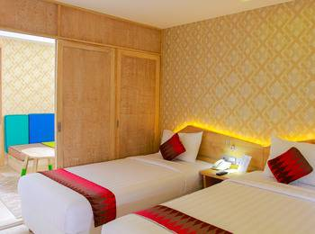 D'MAX Hotel & Convention Lombok - Executive Family Room Free Airport Shuttle Regular Plan