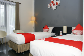 OYO 224 Wisma Grand Kemala Palembang - Standard Twin Long Stay