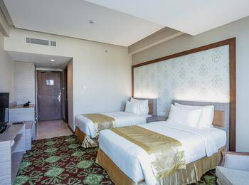 Selyca Mulia Hotel and Shopping Center Samarinda - Deluxe Twin Room Only Regular Plan
