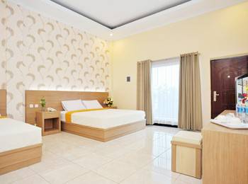 Hotel New Merdeka Pati - Suite Double Bed Regular Plan