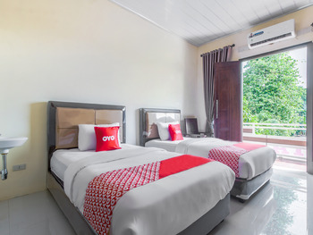 OYO 3365 Griya Nusantara Syariah Bandar Lampung - Deluxe Twin Room Promotion