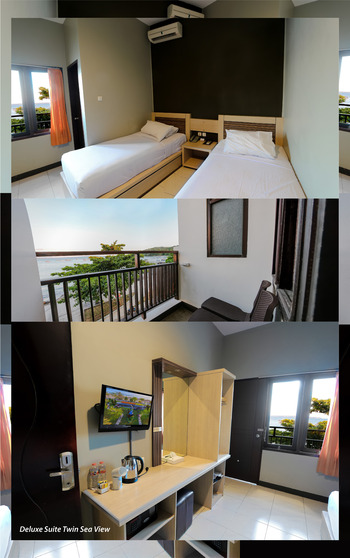 Sun In Pangandaran Hotel Pangandaran - Deluxe Suite Sea View Twin Bed Room Only Regular Plan