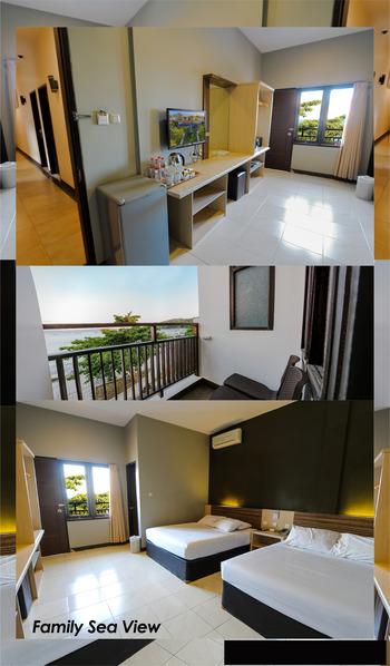 Sun In Pangandaran Hotel Pangandaran - Family Sea View Room Only 15% - Last Minute - 4 - 17 May 2021