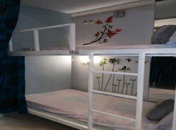 Butik Capsule Hostel Malang - FEMALE Twin Dormitory Type C For 2 Person Regular Plan