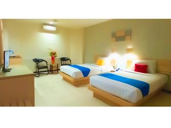 Hotel Merpati Pontianak - Superior Twin Room (Lt. 2) Regular Plan