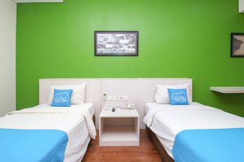 Airy Kemayoran Kran 20 Jakarta Jakarta - Deluxe Twin Room Only Regular Plan