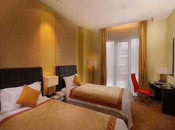 Hotel Golden Flower Bandung - Superior Twin Room Only Regular Plan