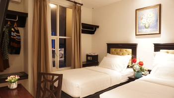 d'primahotel Pantai Losari (Formerly Same Hotel Makassar) Makassar - Superior Twin Bed Promo HEPI