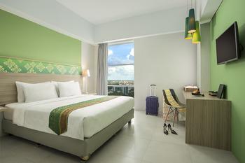 Pesonna Hotel Pekanbaru - Deluxe Double Room Only Regular Plan