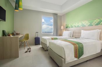 Pesonna Hotel Pekanbaru - Deluxe Twin Room Only Regular Plan
