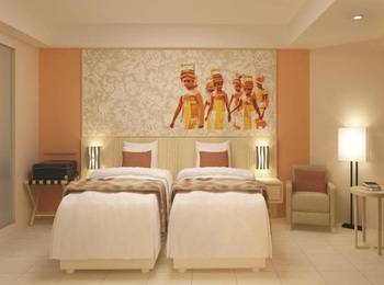 Citadines Kuta Beach Bali - Studio Executive Twin Room Only Basic Deal