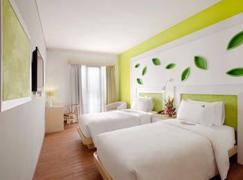 Max One Hotel Bandung - Warmth Twin Room Only #WIDIH