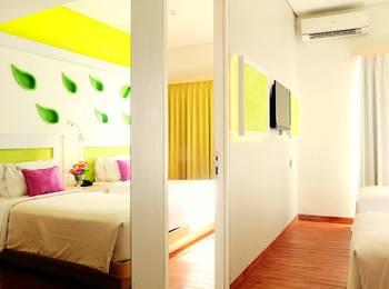 Shakti Hotel Bandung - Family Room With Breakfast Regular Plan