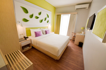 Shakti Hotel Bandung - Deluxe Double With Breakfast Regular Plan