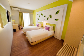 Shakti Hotel Bandung - Superior Deluxe Twin With Breakfast Regular Plan