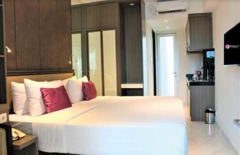 Shakti Hotel Bandung - King Studio Deluxe Room Only Regular Plan