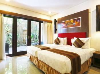 The Swaha Hotel Bali - Deluxe Studio Connecting Rooms Room Only Limited