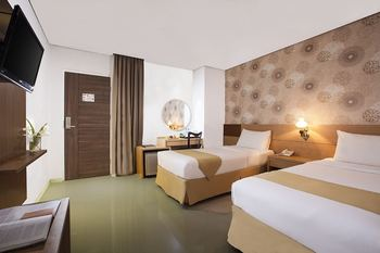 The Cube Hotel Jogja - Superior Twin Bed Room Only NR bASIC dEAL 25%