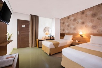 The Cube Hotel Jogja - Superior Twin Bed Room Only FC bASIC dEAL 25%