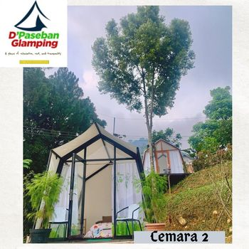 D'Paseban Glamping Puncak - Glamping Cemara 2 Regular Plan
