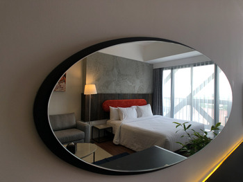 PULANG ke UTTARA Yogyakarta - Balcony (Queen Bed) Promo Stay Hepi