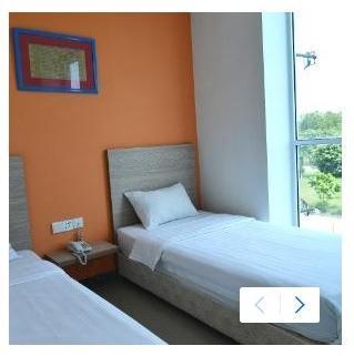 Hotel Fresh One Batam - Deluxe Twin Room Regular Plan