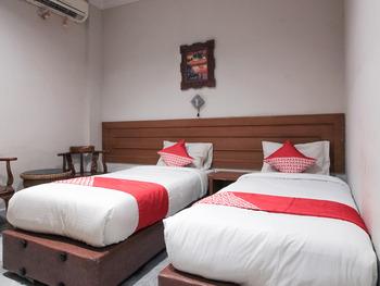 OYO 717 Hotel Dharma Utama Syariah Pekanbaru - Deluxe Twin Room Early Bird