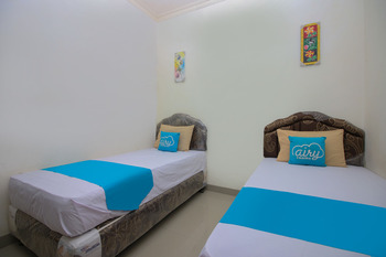 Airy Rappocini Andi Djemma 63A Makassar Makassar - Standard Twin Room Only Regular Plan