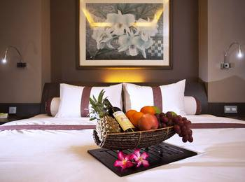 Sun Boutique Hotel Bali - Deluxe Room FREE 1X DINNER FOR 2 PAX.