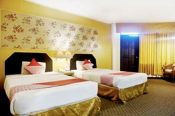OYO 805 Hotel Dyan Graha Pekanbaru - Deluxe Twin Room Regular Plan