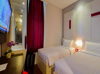 D' Hotel Jakarta - Divine Twin Room Regular Plan