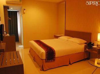 Hotel Grand Fatma Tenggarong - Deluxe Room - Double Bed Regular Plan