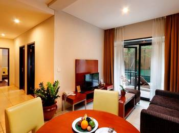 Grand Kuta Hotel Bali - Executive Premiere  Room 3 Bedrooms ( For 4 Persons ) Regular Plan