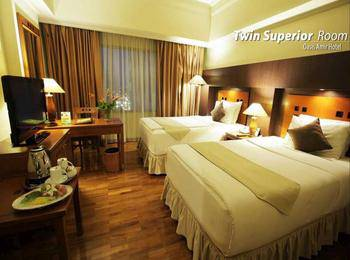 Oasis Amir Hotel Jakarta - Superior Twin Room Only Regular Plan