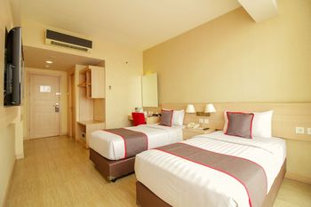 Collection O17 Btc Near Hermina Pasteur Bandung - Deluxe Twin Room Regular Plan