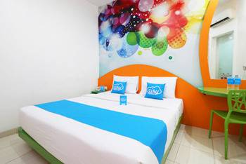 Airy Tampan HR Soebrantas KM 11,5 Pekanbaru - Deluxe Double Room with Breakfast Special Promo May 28