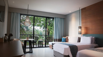 Novus Jiva Anyer Villa Resort and Spa Serang - Cozy Garden View Regular Plan